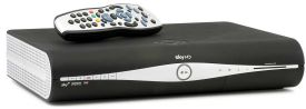 Sky+ HD satellite receiver box
